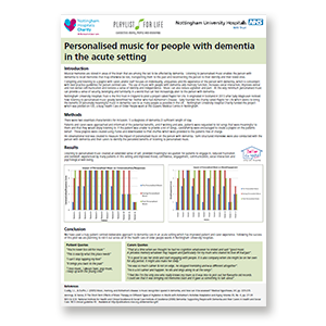 A link to Nottingham University Hospital's evaluation .pdf file is present