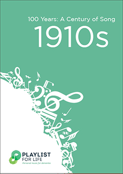 A link to the top songs of the 1910s .pdf file is present