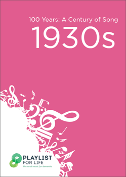A link to the top songs of the 1930s .pdf file is present