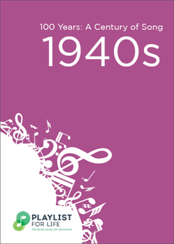 A link to the top songs of the 1940s .pdf file is present