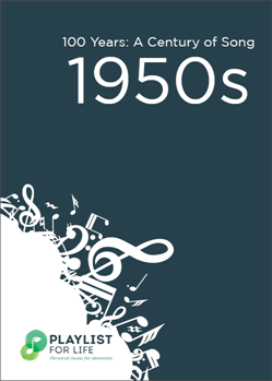 A link to the top songs of the 1950s .pdf file is present