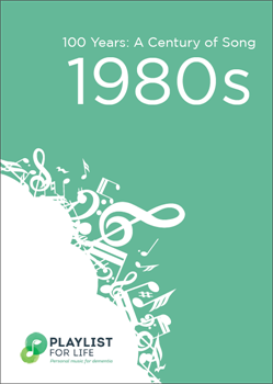 A link to the top songs of the 1980s .pdf file is present