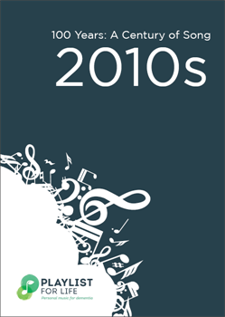 A link to the top songs of the 2010s .pdf file is present