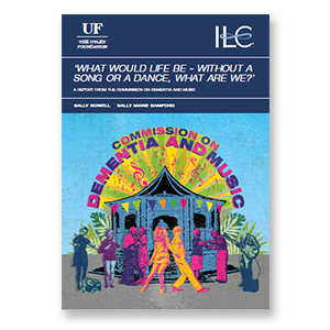 A link to ILC's report from the Commission on Dementia and Music .pdf file is present