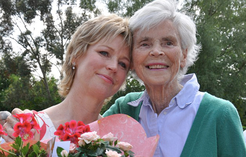 Photo of founder Sally Magnusson and her mother Mamie