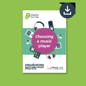 Choosing a music player guide